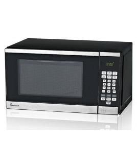 0.7 CU. FT. 700 Watt Countertop Microwave Oven, Stainless Steel