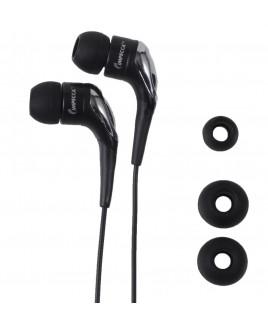 Light Weight Stereo Earphones - Black