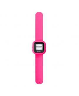 "Impecca 8GB MP3 Slapwatch with 1.5"" TFT Display - Pink"