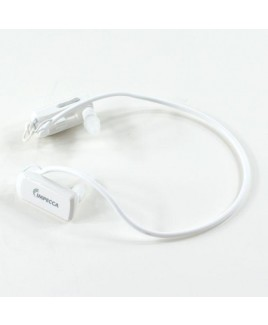 Wire Free Sports 4GB Waterproof MP3 Player - White