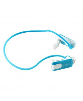 Wire Free Sport Waterproof 8GB MP3 Player, Aqua