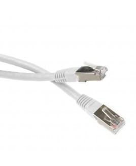 3 FT. CAT6 RJ45 Shielded Network Patch Cable - Grey