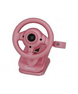 WC100 Steering Wheel Webcam with Built-in Mic Pink