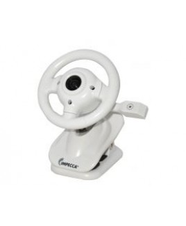 WC100 Steering Wheel Webcam with Built-in Mic White