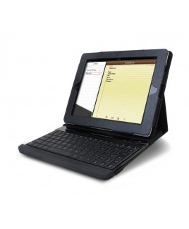 Detachable Wireless Keyboard & Protective Case/Stand for iPad 1, 2, 3, 4th generations (30 pin)