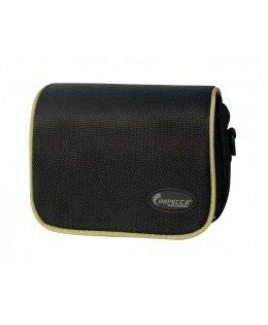 DCS100 Digital Camera Case for G10/G11 Black with Green Trim