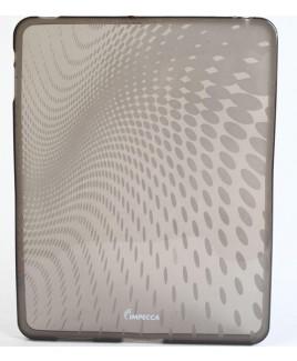 IPS120 Wave Pattern Flexible TPU Protective Skin for iPad™ - Smoke