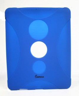 IPS130 Shock Protective Heavy Duty Rubber Skin for iPad™ - Royal Blue