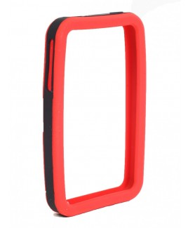 IPS226 Secure Grip Rubber Bumper Frame for iPhone 4™ <em>Dual Color</em> - Red/Black