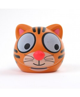 Zoo-Tunes Compact Portable Character Stereo Speaker, Terry the Tiger