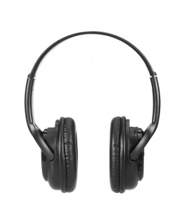 Impecca Bluetooth Stereo Headset + Music Player, Black