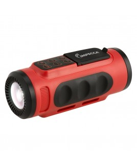Bluetooth Bicycle Speaker with Headlight - Red