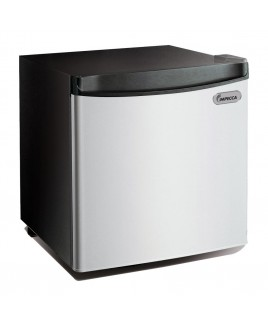 Impecca 1.7 Cu. Ft. Compact Refrigerator, Stainless Look