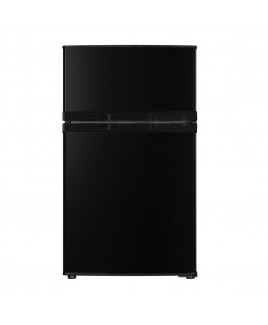 RC-2311 3.1 Cu. Ft. Compact Double Door Refrigerator, Black