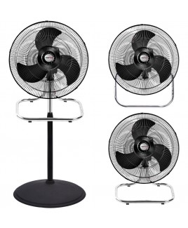 FanFair 18 Inch 3-in-1 Hi Velocity Industrial Fan