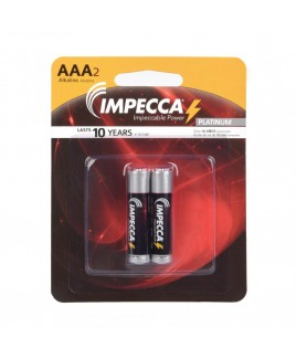 Alkaline AAA LR03 Platinum Batteries 2-Pack