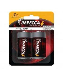 Alkaline C LR14 Platinum Batteries 2-Pack