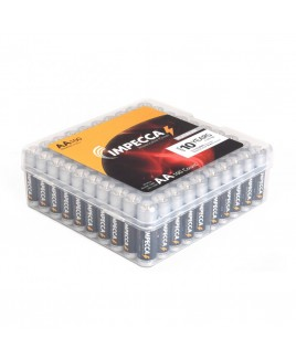 Alkaline AA LR06 Platinum Batteries 100-Pack