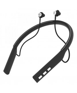 EBN-500BT Bluetooth Leather Neckband Stereo Earphones