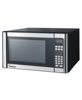 Impecca 1.1 Cu. Ft. Microwave Oven, Stainless