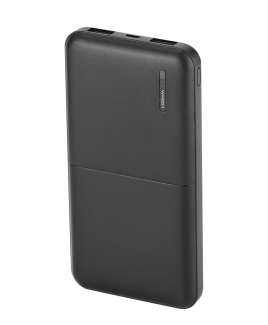 10000 mAh Power Bank - Black
