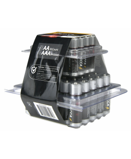 Alkaline AA 30 & AAA 24-Pack Platinum Batteries