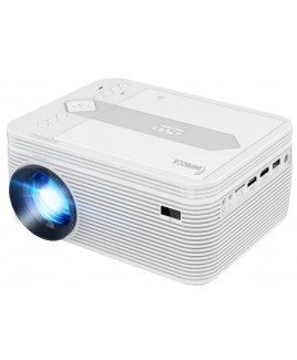LED Home Theatre Projector with DVD (White)