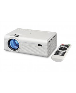 LED Home Theatre Projector (White)