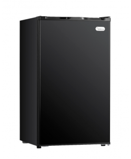 Impecca 4.4 Cu. Ft. All Refrigerator, Black