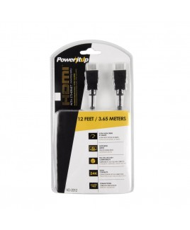 Power-It-Up 12ft. HDMI v2.0 Cable with Ethernet
