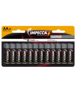 Alkaline AA LR06 Platinum Batteries 24-Pack
