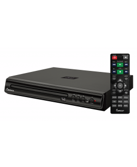 Impecca Compact Home DVD Player with USB Playback