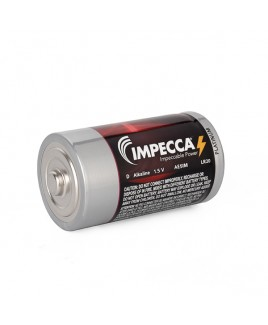 Alkaline D LR20 Platinum Batteries 2-Pack