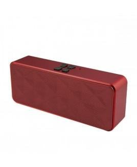 Portable Hi-Fi Stereo Bluetooth Speaker, Maroon