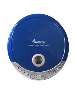 Personal MP3/CD Player - Blue