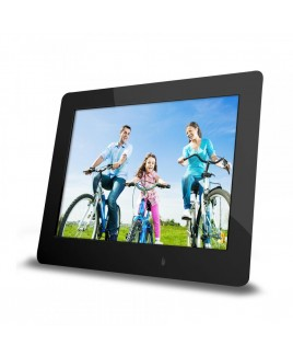 8 Inch Ultra-Slim Digital Frame - Black