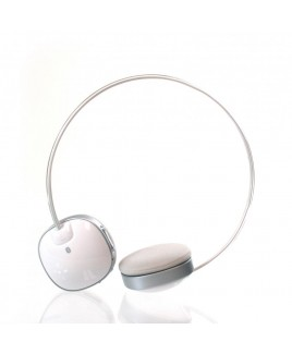 Impecca Bluetooth Stereo Headset with Built in Microphone, White