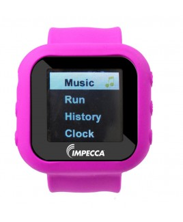 4GB MP3 and Video Player Slap Watch - Pink