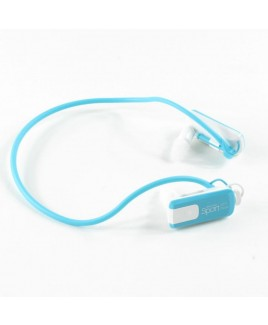 Wire Free Sports 4GB Waterproof MP3 Player - Aqua
