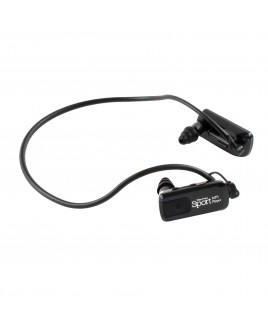 Wire Free Sport Waterproof 8GB MP3 Player, Black