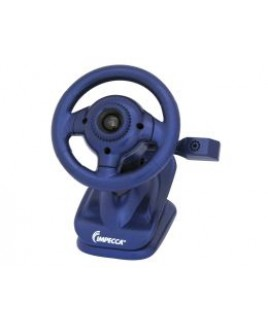 WC100 Steering Wheel Webcam with Built-in Mic Blue