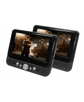DVP-DS720 7-inch Dual Screen Portable DVD Player