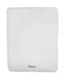 IPS120 Wave Pattern Flexible TPU Protective Skin for iPad™ - White