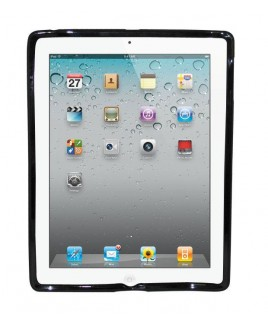 IPS124 Fingerprint Flexible TPU Protective Skin for iPad 2