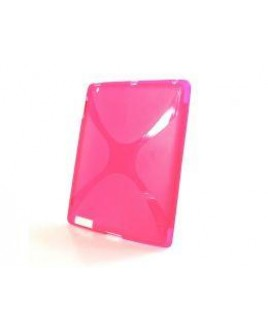 IPS124 Flexible TPU Skin for iPad 2™ PC Tablet RED