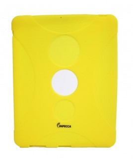 IPS130 Shock Protective Heavy Duty Rubber Skin for iPad™ - Yellow