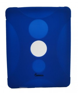 IPS130 Shock Protective Heavy Duty Rubber Skin for iPad™ - Dark Blue