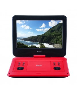 Portable DVD Player with 13.3-inch 180-degree Widescreen LCD, Scarlet Dynamite