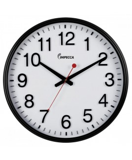 18-inch Wall Clock - Black Frame