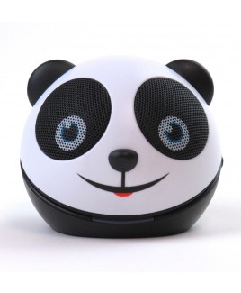 Zoo-Tunes Compact Portable Character Stereo Speaker, Amanda the Panda